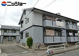 プラザ・ヤマダA・B[1階]の外観