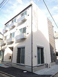 東京都江東区亀戸7丁目の賃貸アパートの外観