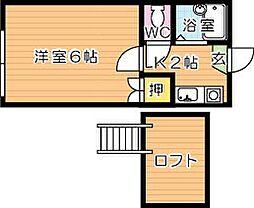 PaSTORaL力丸(パストラル力丸)[1階]の間取り