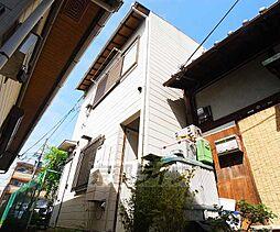 京都府京都市東山区渋谷通東大路東入下馬町の賃貸アパートの外観
