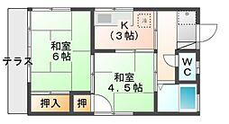 [一戸建] 埼玉県さいたま市見沼区大字大谷 の賃貸【/】の間取り