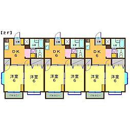 ヴィブレMAKIIII[2階]の間取り