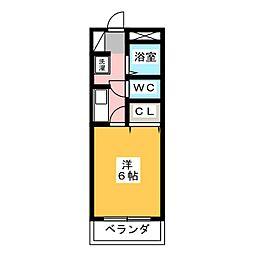 メゾンASAI[1階]の間取り