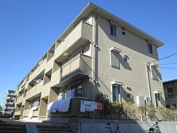 神奈川県横浜市港北区綱島東5丁目の賃貸アパートの外観