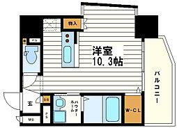 OAK弥栄・夕陽ヶ丘[10階]の間取り