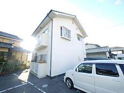 岡山県岡山市南区北浦の賃貸アパートの外観