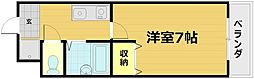 エクセレント秋桜[3階]の間取り