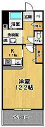 CASAアモール2[305号室]の間取り