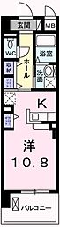 東京都羽村市栄町2丁目の賃貸マンションの間取り