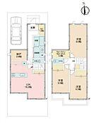 「建物参考プラン」納戸・WIC付き3LDK(建物面積101.84m2)