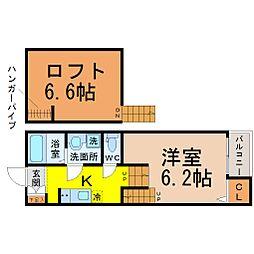 Verde新守西(ヴェルデ新守西)[2階]の間取り