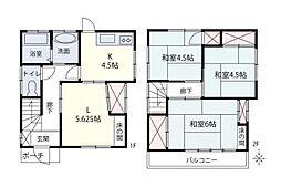 一戸建て(狭山ヶ丘駅から徒歩7分、66.55m²、980万円)