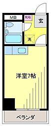 新松戸NCAマンション[4階]の間取り