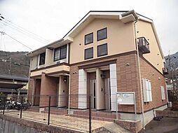 京都府京都市左京区上高野奥小森町の賃貸アパートの外観