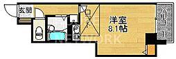 プレサンス京都清水[501号室号室]の間取り