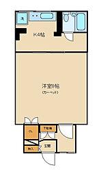 セントラル西新宿[301号室]の間取り