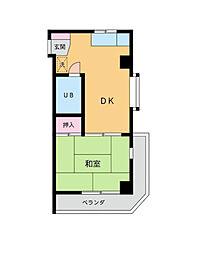 AP・KOHATA[1階]の間取り
