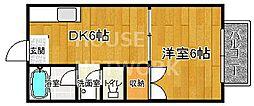 GANESHA994[208号室号室]の間取り