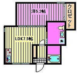 Jガーデン日進町[1階]の間取り
