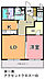 間取り,1LDK,面積44.61m2,賃料8.0万円,JR常磐線 赤塚駅 徒歩36分,,茨城県水戸市見川2丁目57番地