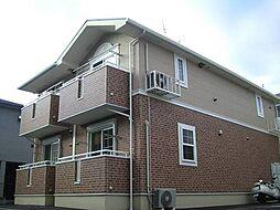 広島県広島市東区戸坂出江1丁目の賃貸アパートの外観