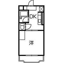 サンシャインA2[2階]の間取り