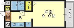 メゾン・ドーム千成[2階]の間取り