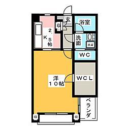 茜乃郷[2階]の間取り