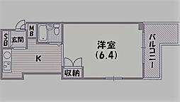 ローレル西宮北口[103号室]の間取り