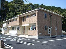福岡県糟屋郡久山町大字久原の賃貸アパートの外観