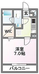 千葉県船橋市飯山満町3の賃貸アパートの間取り