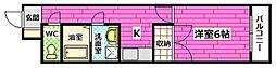 サクセスWAKABA[1階]の間取り
