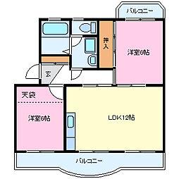 ピュアセゾン[3階]の外観