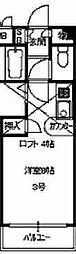 大阪府大阪市住之江区北加賀屋5丁目の賃貸マンションの間取り
