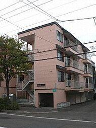北海道札幌市東区北十二条東4丁目の賃貸アパートの外観