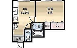 メゾンヒカル[2階]の間取り