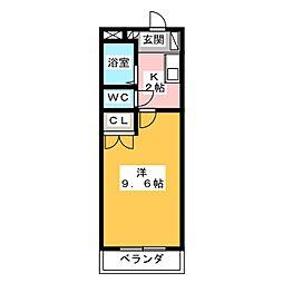 LIBERTE IWASAKI[3階]の間取り