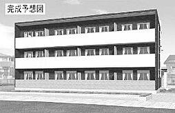 神奈川県茅ヶ崎市西久保の賃貸アパートの外観