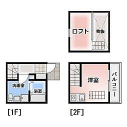 [テラスハウス] 愛知県清須市西枇杷島町北二ツ杁 の賃貸【/】の間取り