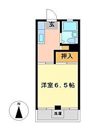 神奈川県川崎市高津区坂戸3丁目の賃貸マンションの間取り