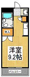 ミラ21[1階]の間取り