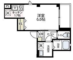 (仮称)ビューノ伊勢町[301号室号室]の間取り