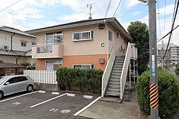 平松ハイツC[2階]の外観