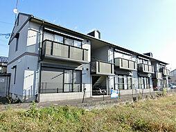 滋賀県湖南市吉永の賃貸アパートの外観