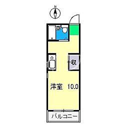 シャポーAP[2階]の間取り
