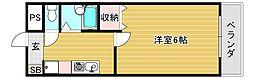 コンチェルト豊津[5階]の間取り