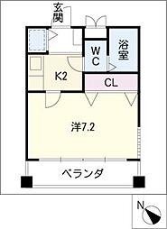 シガヤビル[4階]の間取り