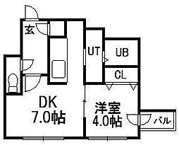 VivaceN4[2階]の間取り