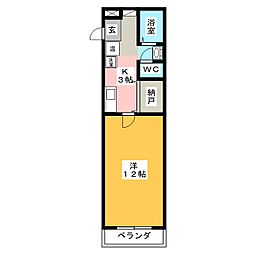 Palette−T2[4階]の間取り