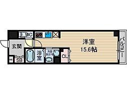 山崎マンション13[2階]の間取り